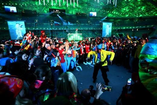 Dancing Olympians