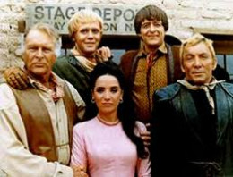 This is a cast picture from another popular western series The High Chaparral.