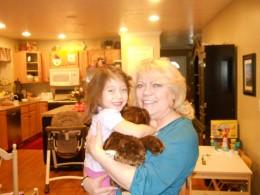 My Grandma loves me!
