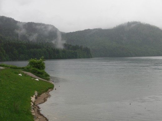 The lake near the Hohenschwangau castle