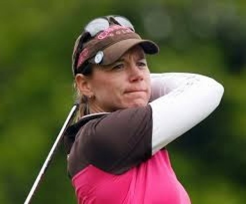 Annika Sorenstam is a great golfer who was a student of the game.