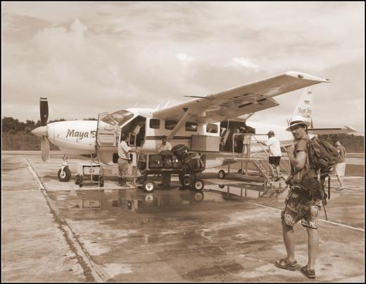 Maya Island Air sky cab
