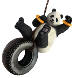 Panda in Tekken