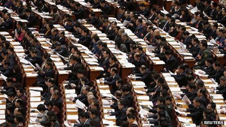 In China, officials at a certain rank all have standardized black hair to keep up with appearances -- it is part of the political protocol.