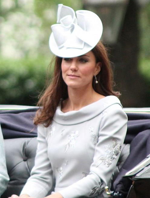 Image of the Duchess of Cambridge,