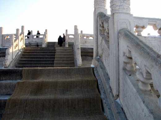These steps nearly killed me.  Temple of Heaven indeed.