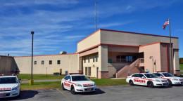 the local Saratoga county correctional facility, located in Ballston Spa, NY