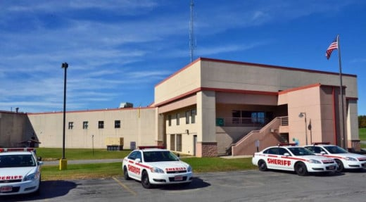 the local Saratoga county correctional facility, located in Ballston Spa, NY