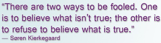 Whatever you believe becomes your truth - but is it actually true?