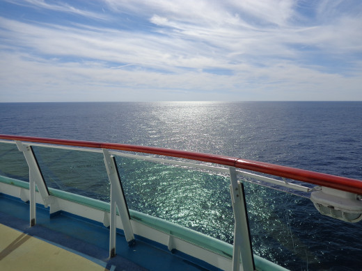 A Beautiful Day at Sea