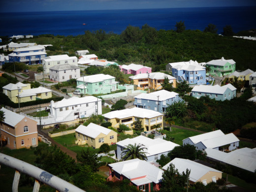 Housing in Bermuda - Wish Special Roofs For Collecting Water