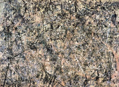 Example of Jackson Pollocks Painting
