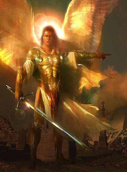 Archangel Gabriel Artist Unknown