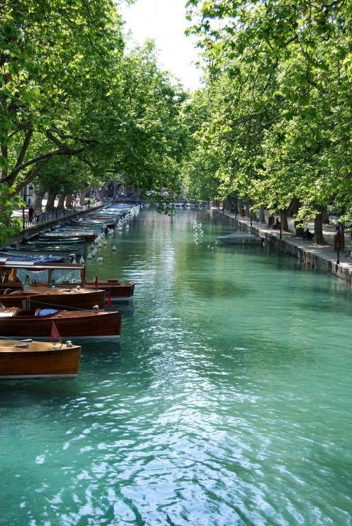 Annecy town. Source; my own photos.