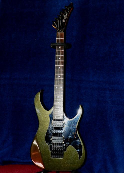My Fender Heartfield Talon II