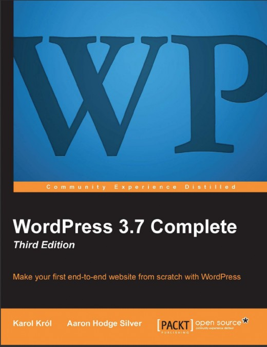 Packt Publishing's offers the latest complete text for learning WordPress!