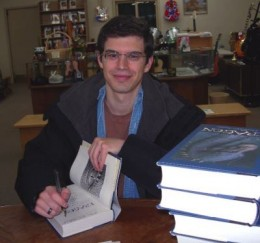 Christopher Paolini, author of The Inheritance Cycle Series.