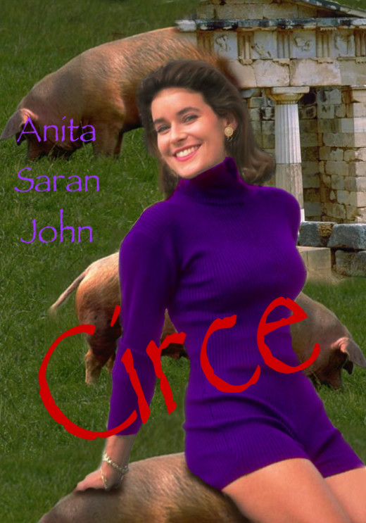 The first edition of 'Circe' by Anita Saran from Electric Umbrella