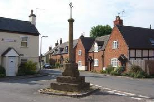 The lovely Worcester village of Wyre Piddle.