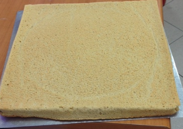 Layer 1 ( Joconde Sponge Cake)