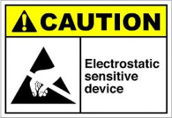 Handling of Electrostatic Discharge Sensitive (ESDS) Item. Interesting topic for aviation lovers.