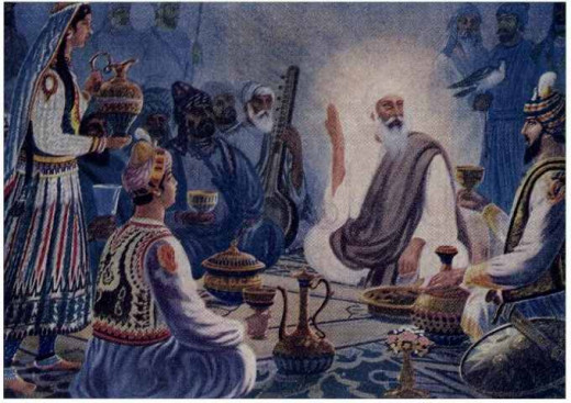 The History Meet of Guru Nanak Dev and Babur