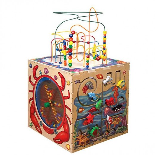 The Sea Life Play Cube adds play value and is attractive