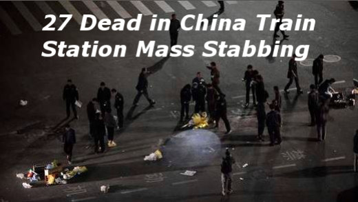 27 Dead in China Mass Stabbing