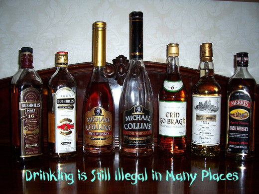 Alcohol is still illegal in many places
