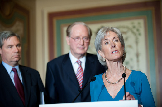 Kathleen Sebelius, Secretary of Health and Human Services (HHS) announced initiative in 2009  to fight Medicare fraud, waste and abuse. The HHS administers the Medicare and Medicaid program.