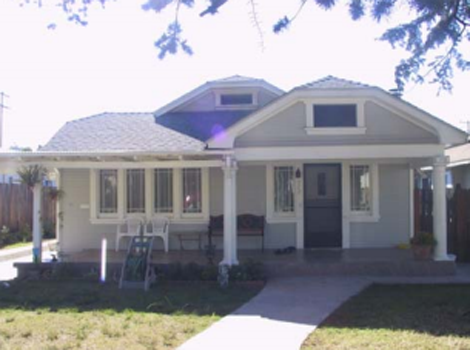 Clipped Gable Craftsman Home