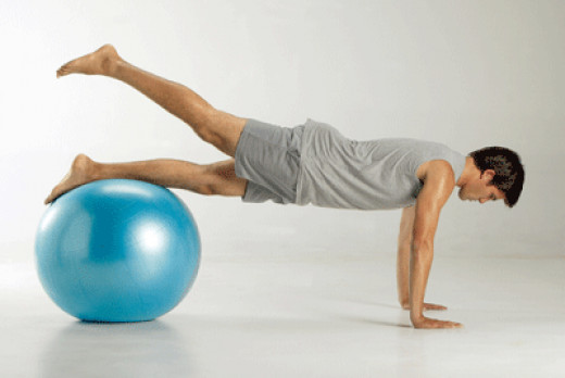 Using the Pilates Ball includes many effective workouts for your body to improve circulation and posture.