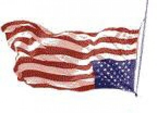 Our Flag in Distress