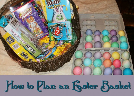 Planning an Easter Basket is fun, and it ensures that you've completed the project so that your children can enjoy it!