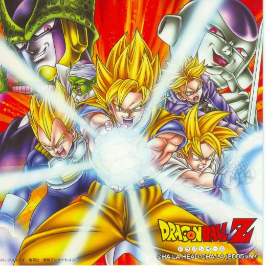 Dragon Ball Z - OP1 & OP2 Single