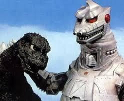 Godzilla and Mechagodzilla