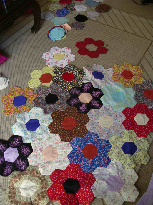 . . . A Quilt in Progress . . .