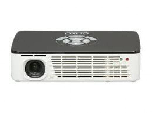 AAXA P300 - the perfect alternative to Optoma PT series (over our budget, but still very affordable compared to the non-LED projectors) due to its high contrast and native resolution.