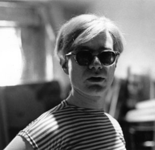 Andy Warhol as an artist in New York City