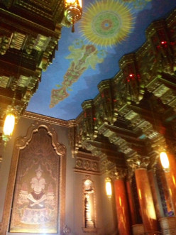 I just loved the inside of the Fox Theater, and it was hard with the camera I had to truly capture the beauty of it.
