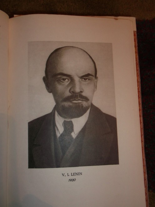 Image of Lenin from Wikimedia Commons