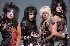 (From left to right) Nikki Sixx, Mick Mars, Vince Neil and Tommy Lee