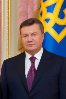 Recently ousted Ukrainian President Victor Yanukovich