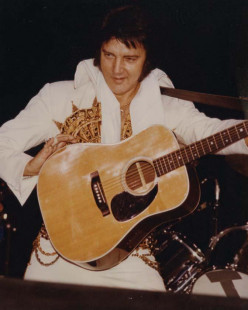 The Martin D-28 Elvis Presley Guitar, A Guitar Fit For A King