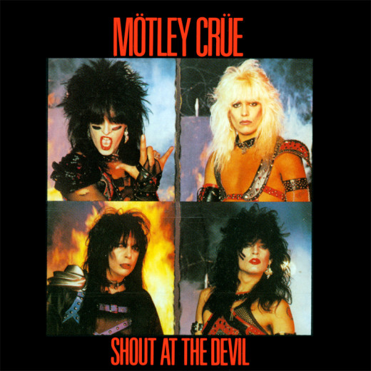 Front cover for 'Shout At the Devil' (1983)
