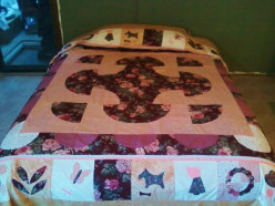 Backing and Sandwiching a Queen-Size Quilt
