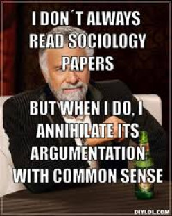sociology and common sense essay The first part of thinking sociologically is called action how do common sense and sociology differ read simmel's essay on the stranger.