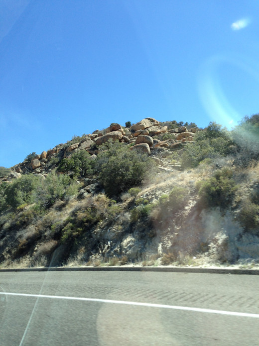 Homeward bound. Arizona, West of Yuma.