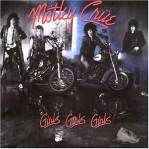 Album cover for 'Girls Girls Girls' (1987)