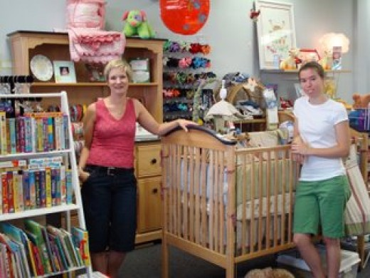Kids consignment shop
